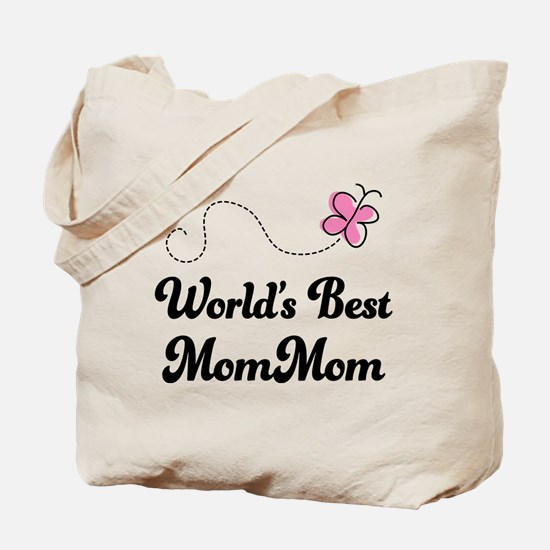 Worlds Best MomMom Tote Bag