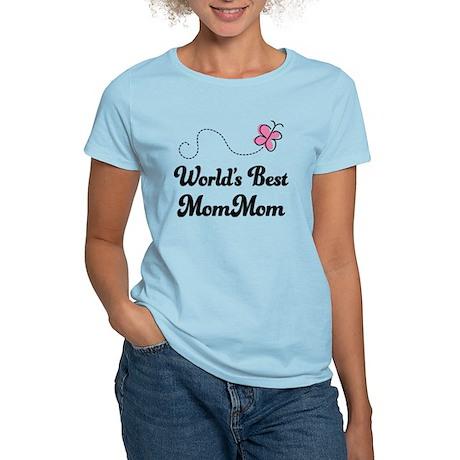 Worlds Best MomMom Women's Light T-Shirt