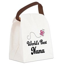 World's Best Nana Canvas Lunch Bag