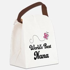 World's Best Nana Canvas Lunch Bag