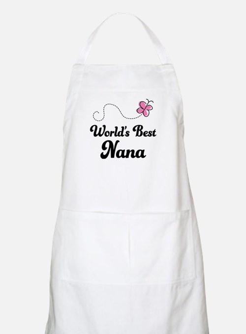 World's Best Nana Apron