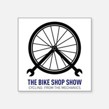 "Show Logo Square Sticker 3"" x 3"""