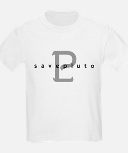 save pluto classic Kids T-Shirt