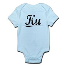Ku, Vintage Infant Bodysuit