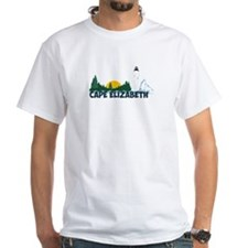 Cape Elizabeth ME - Beach Design. Shirt