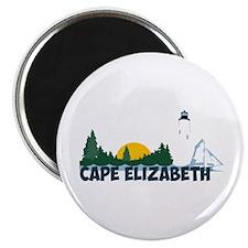 Cape Elizabeth ME - Beach Design. Magnet