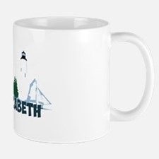 Cape Elizabeth ME - Beach Design. Mug