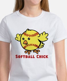 Softball Chick Women's T-Shirt