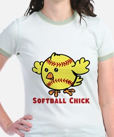 Softball Chick T