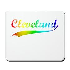 Cleveland, Rainbow, Mousepad