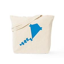 Blue Kite Tote Bag