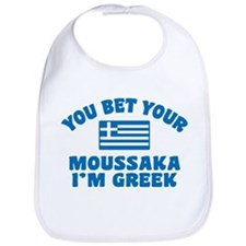 Funny Greek Moussaka Bib