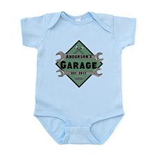 Personalized Garage Infant Bodysuit