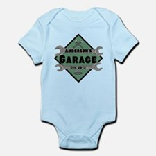 Personalized Garage Infant Bodysuit
