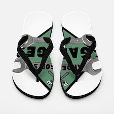 Personalized Garage Flip Flops