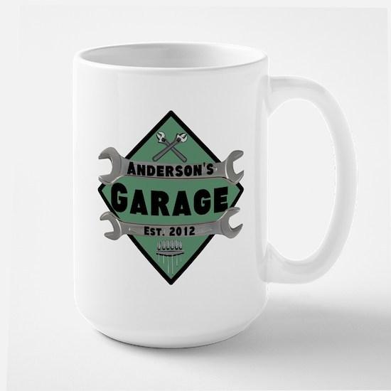 Personalized Garage Large Mug