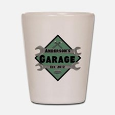 Personalized Garage Shot Glass