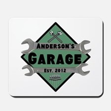 Personalized Garage Mousepad