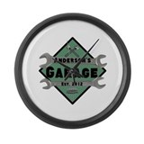 Garage Wall Clocks