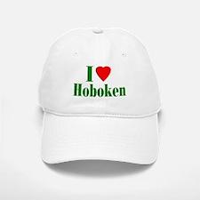 I Love Hoboken Baseball Baseball Cap