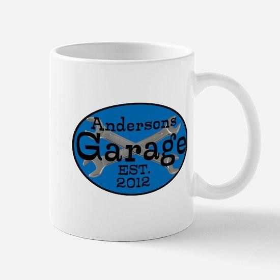 Personalized Garage Mug
