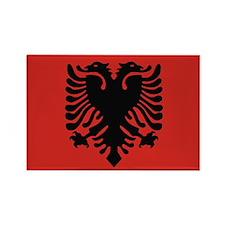 Albanian Rectangle Magnet (100 pack)