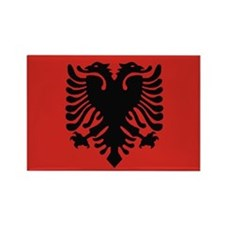 Albanian Rectangle Magnet