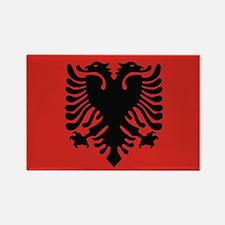 Albanian Rectangle Magnet