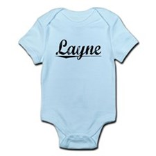 Layne, Vintage Infant Bodysuit