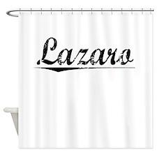 Lazaro, Vintage Shower Curtain