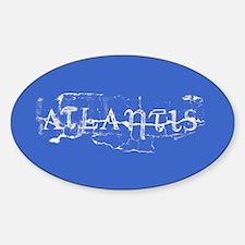 Atlantis Royal Sticker (Oval)