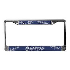 Atlantis Navy License Plate Frame