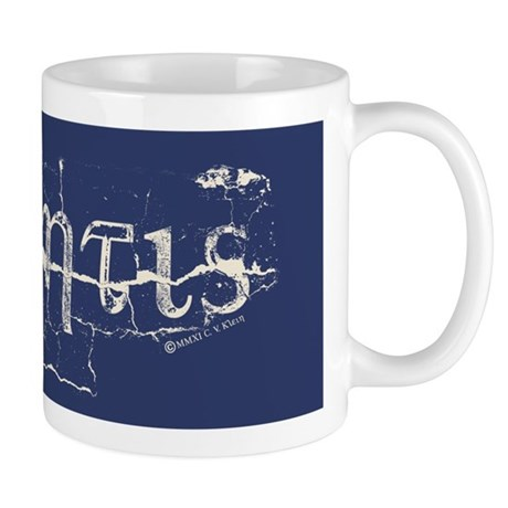 Atlantis Navy Mug