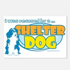 Rescued by Shelter Dog Postcards (Package of 8)
