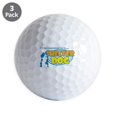 Rescued by Shelter Dog Golf Ball