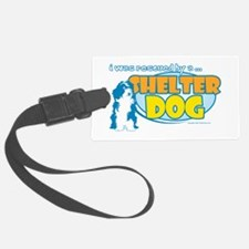 Rescued by Shelter Dog Luggage Tag