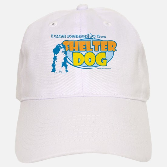 Rescued by Shelter Dog Baseball Baseball Cap
