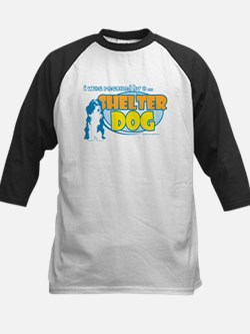 Rescued by Shelter Dog Kids Baseball Jersey