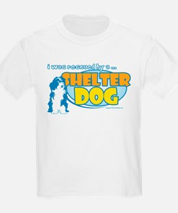 Rescued by Shelter Dog T-Shirt