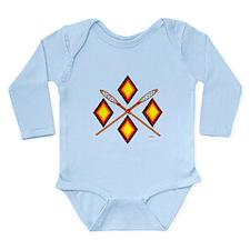 SOUTHEAST TRIBAL STICKBALL Long Sleeve Infant Body