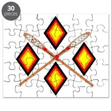 SOUTHEAST TRIBAL STICKBALL Puzzle