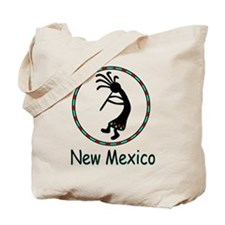 New Mexico kokopeli god Tote Bag