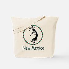 New Mexico kokopeli god Tote Bag