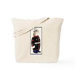 Velveteen Marine Tote Bag