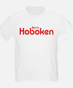 Born in Hoboken Kids T-Shirt