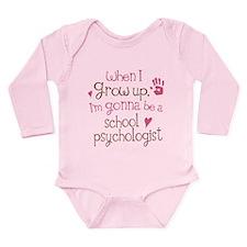 Future School Psychologist Long Sleeve Infant Body