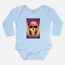 Grinning Death Long Sleeve Infant Bodysuit