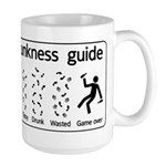 Drunkness guide Large Mug