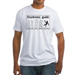 Drunkness guide Fitted T-Shirt