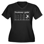 Drunkness guide Women's Plus Size V-Neck Dark T-Sh